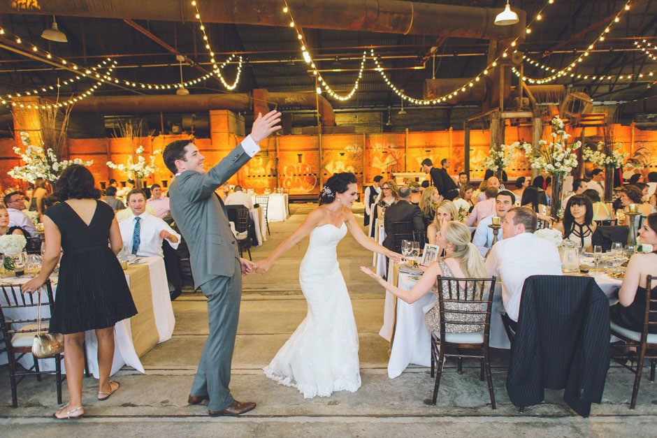 Evergreen Brick Works Wedding