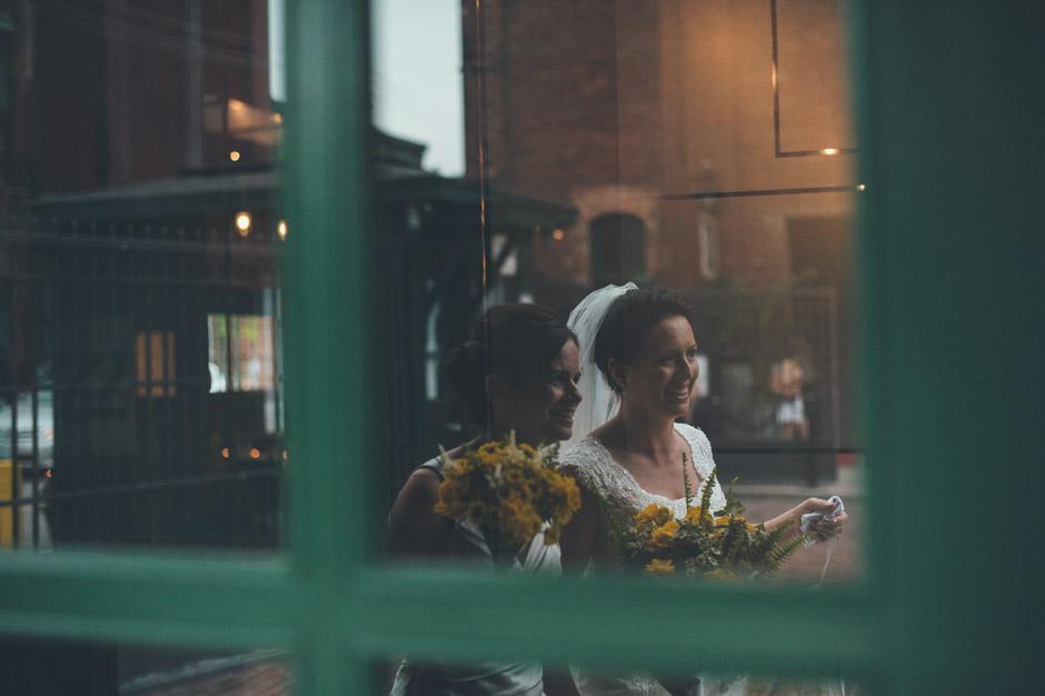 Distillery District Wedding
