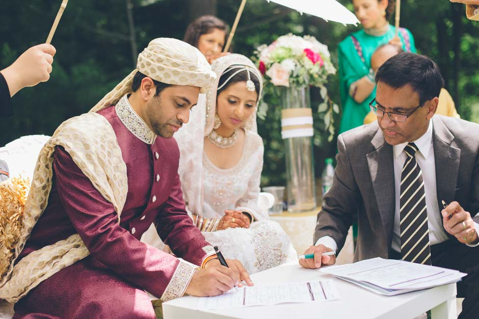 Nikah Ceremony At Rattlesnake Point Golf Club In Milton