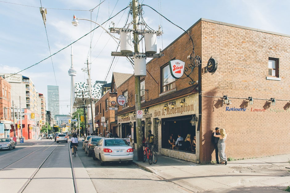 Downtown Toronto Engagement Photos