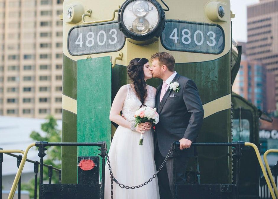 Steam Whistle Brewery Wedding