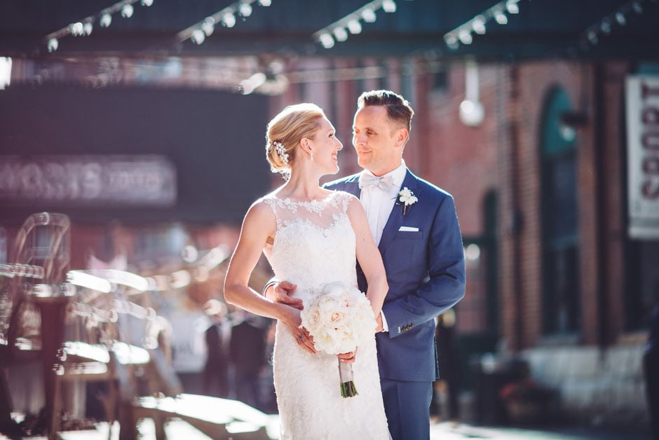Distillery District Arta Gallery Wedding