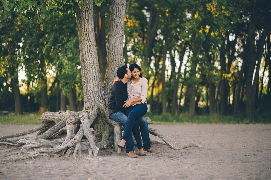 Cherry Beach Engagement Session