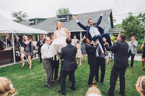garden party chic toronto wedding 070