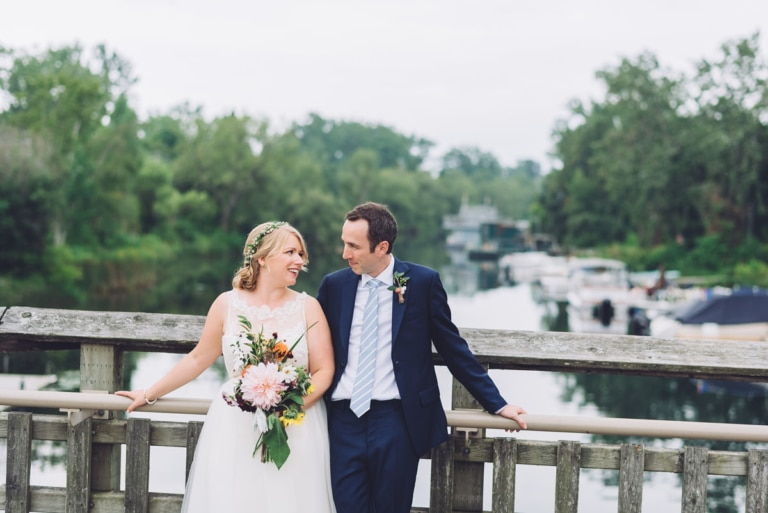 Garden Party Chic Wedding | Toronto Island Wedding